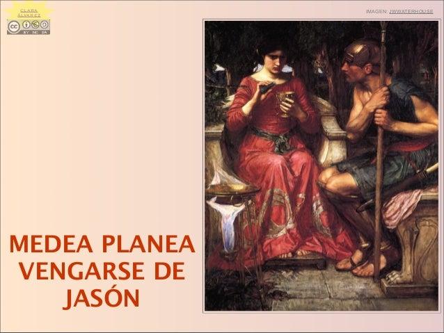 MEDEA PLANEA VENGARSE DE JASÓN IMAGEN: JWWATERHOUSECLARA ÁLVAREZ