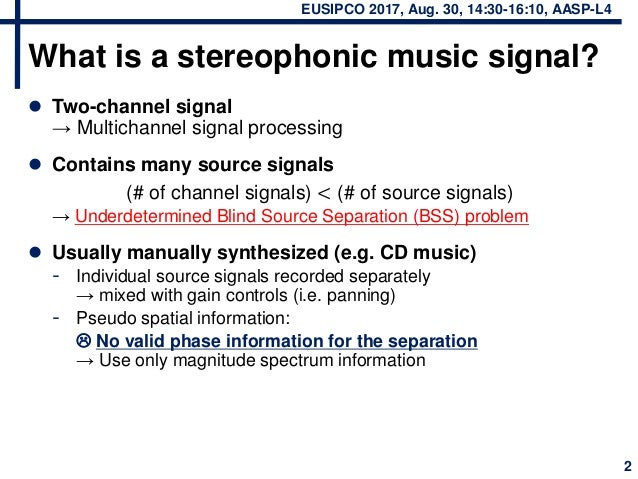 Stereophonic Music Separation Based on Non-negative Tensor