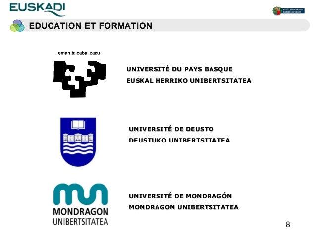 EDUCATION ET FORMATION                 UNIVERSITÉ DU PAYS BASQUE                 EUSKAL HERRIKO UNIBERTSITATEA            ...