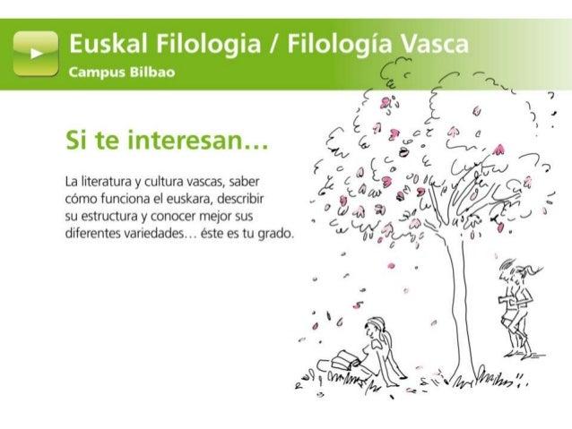 Grado en Euskal Filologia