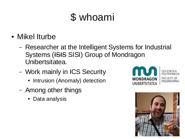 Quimicefa for hackers: Attacking (and trying to defend) chemical processes Slide 2
