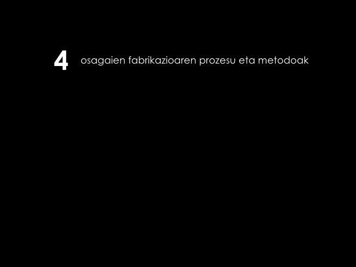 osagaien fabrikazioaren prozesu eta metodoak 4