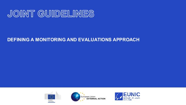 23 DEFINING A MONITORING AND EVALUATIONS APPROACH