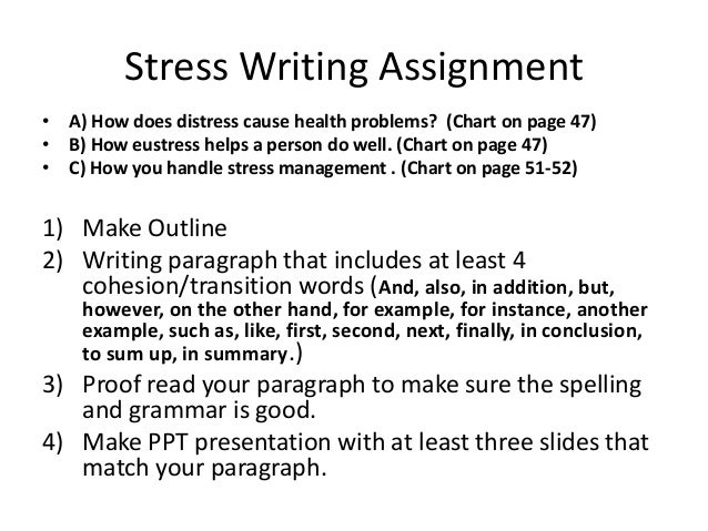 Helps in writing assignments college essay