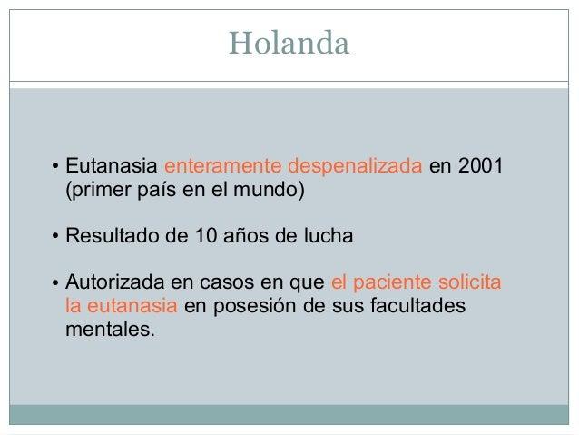 La eutanasia en espa a - Casos de eutanasia ...
