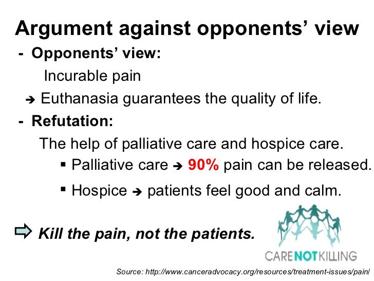 euthanasia debate questions