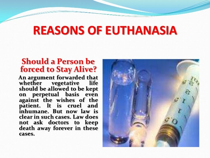 "Essay on ""Euthanasia"" in India"