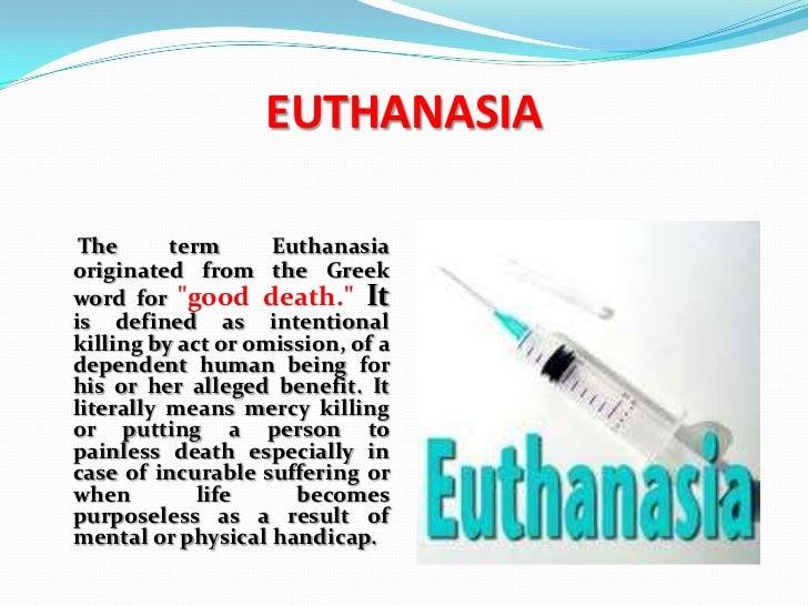 Euthanasia Slide 2