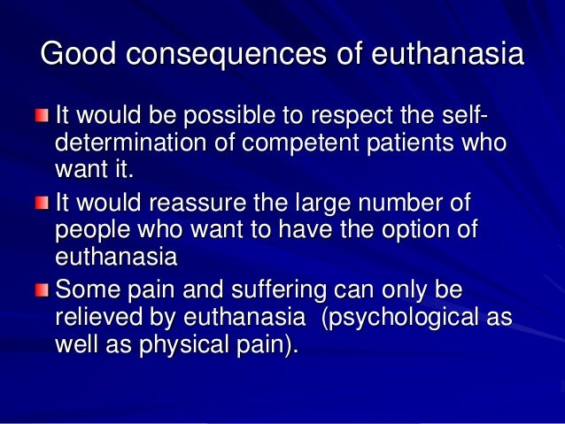euthanasia an immoral act essay Stuck on writing euthanasia pros and cons essay  that it is not immoral for a  for euthanasia euthanasia is defined as, the act or practice of.