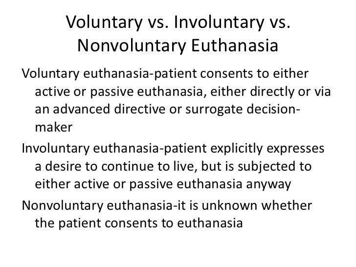 voluntary passive euthanasia