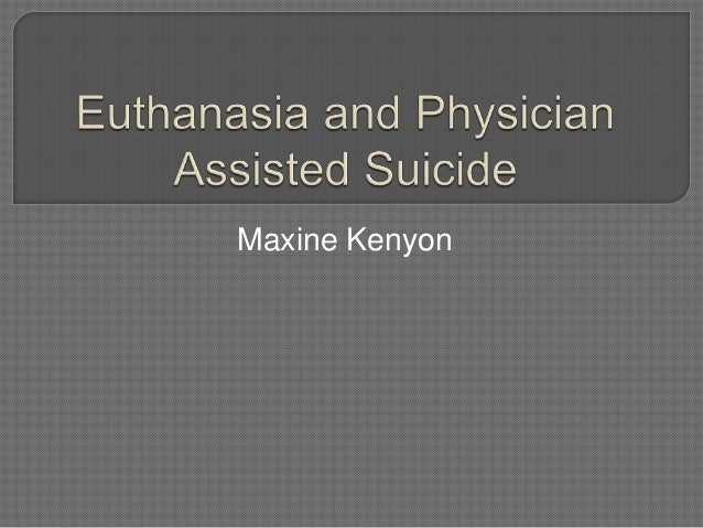 physician assisted suicide 4 essay View this essay on physician-assisted suicide should it be permissible for previously and now in many cultures suicide has been considered as a best option.