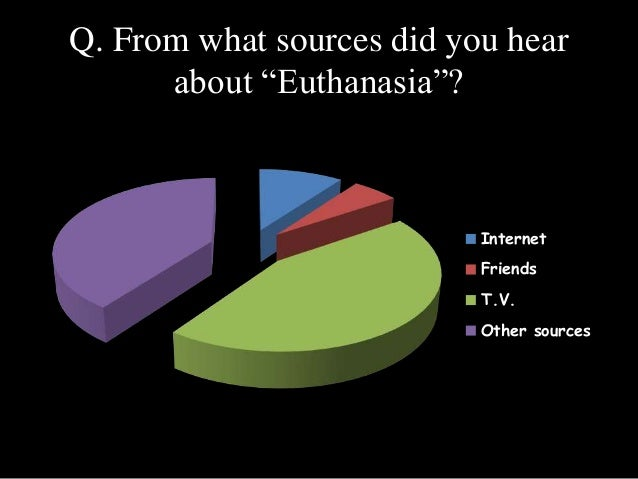 The reasons why euthanasia should not be legalized
