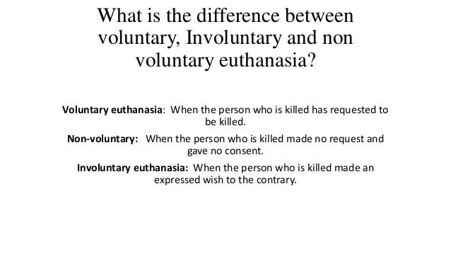an analysis and a comparison of the difference between active and passive euthanasia Passive and active euthanasia: what is the difference  zone between active and passive euthanasia and to  analysis is often rejected by the current literature:.