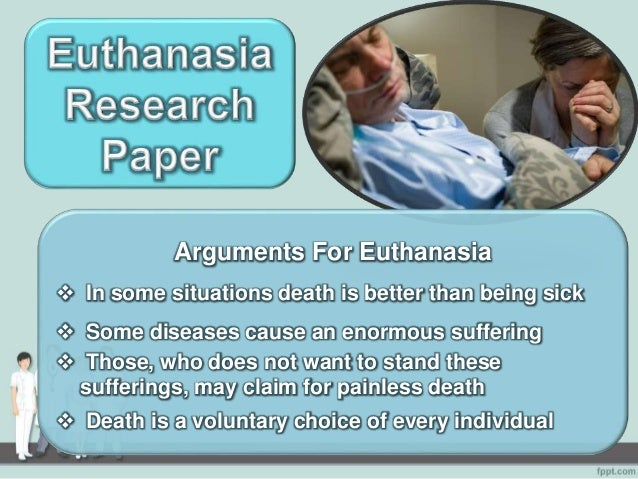Research paper of euthanasia