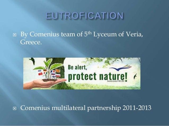  By Comenius team of 5th Lyceum of Veria,Greece. Comenius multilateral partnership 2011-2013