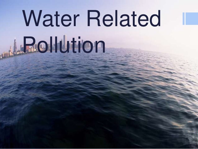 Water Related Pollution