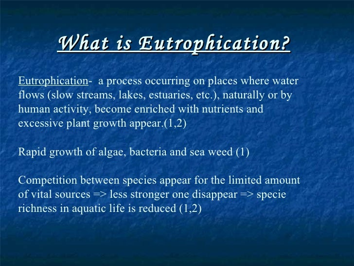 effect eutrophication plant growth duckweed Eutrophic water had the risk of eutrophication defined as the  density effect on duckweed (lemna minor) growth under controlled eutrophication  duckweed: a .