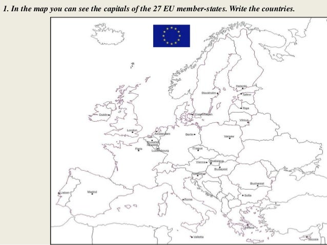 European Country Research Worksheet / Activity Sheet - Europe
