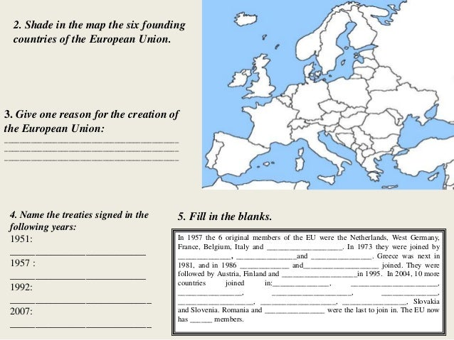 The European Union Editing Task | Classroom Secrets