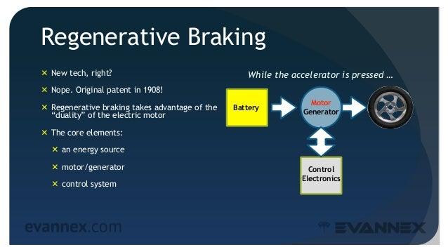 Electric Vehicle University - 205b REGENERATIVE BRAKING