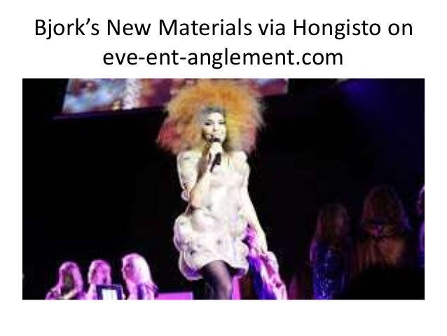 Bjork's New Materials via Hongisto on eve-ent-anglement.com
