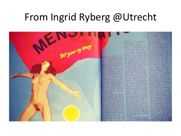 From Ingrid Ryberg @Utrecht
