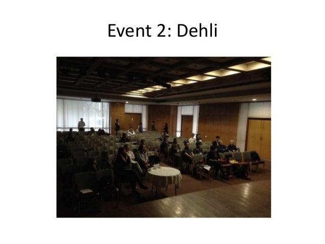 Event 2: Dehli