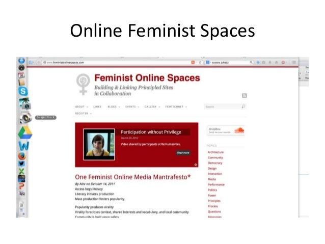 Online Feminist Spaces