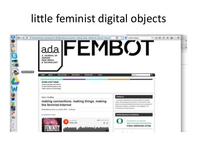 little feminist digital objects