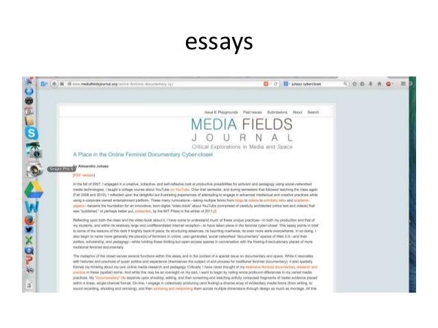 essays