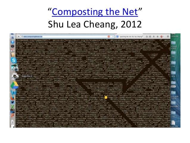 """Composting the Net""  Shu Lea Cheang, 2012"