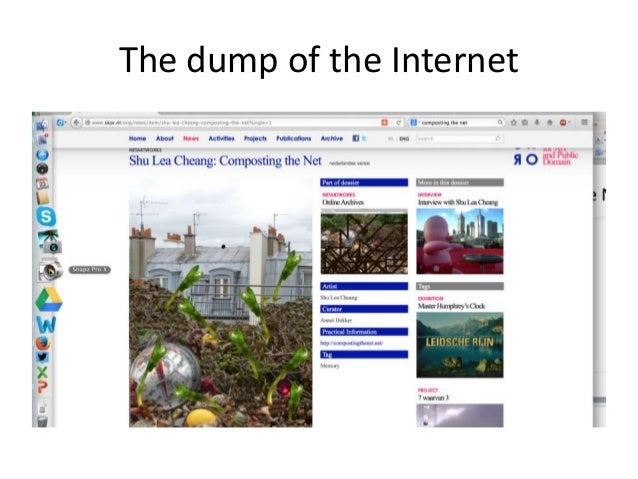 The dump of the Internet