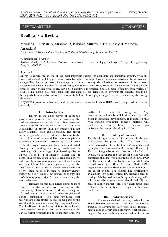 Krishna Murthy T P et al Int. Journal of Engineering Research and Applications ISSN : 2248-9622, Vol. 3, Issue 6, Nov-Dec ...