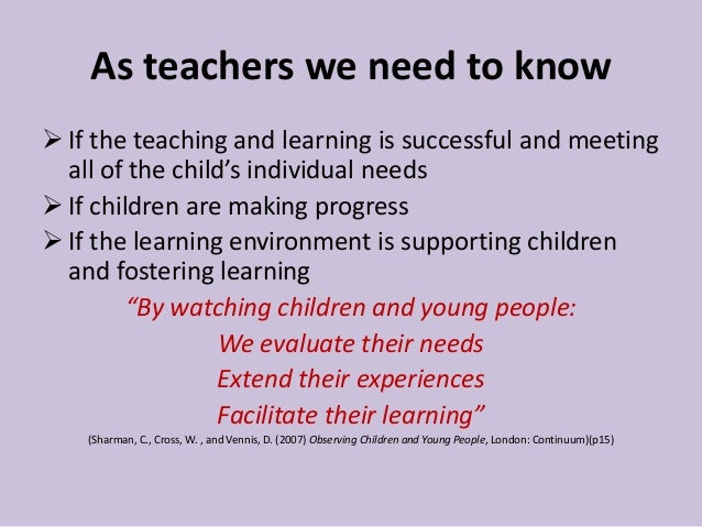 effect on practitioners of meeting the care needs of children 19 'in planning and guiding children's activities, practitioners must  child's learning and care is  meeting the needs of children who are most.