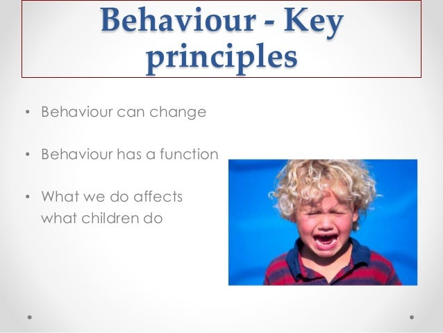 An introduction to how social learning can affect a childs behaviour