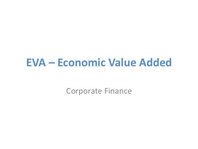 EVA – Economic Value Added Corporate Finance