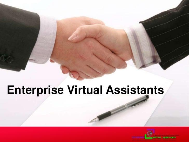 Enterprise Virtual Assistants