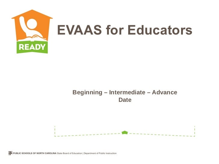EVAAS for Educators  Beginning – Intermediate – Advance                  Date