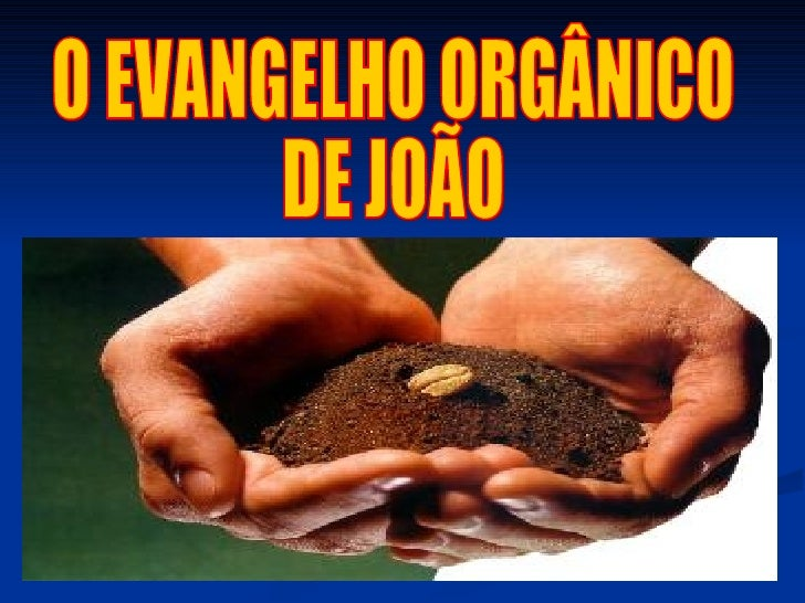 O EVANGELHO ORGÂNICO DE JOÃO
