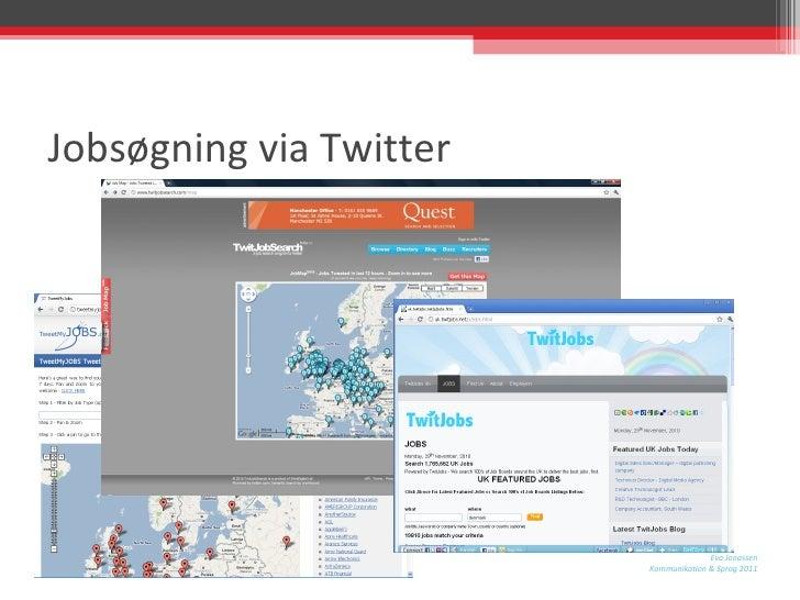 Jobsøgning via Twitter