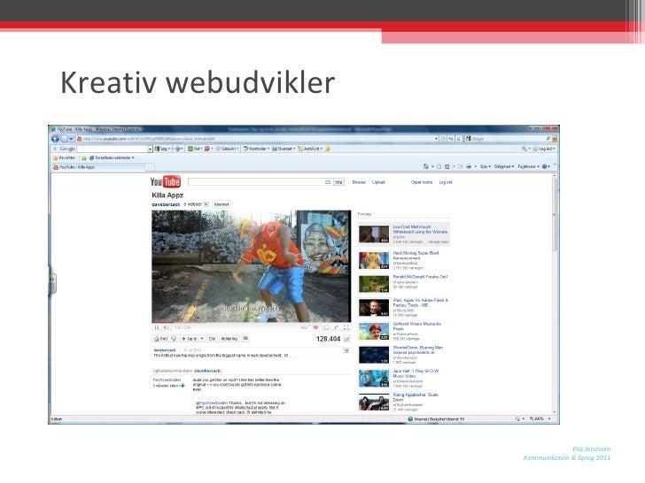 Kreativ webudvikler