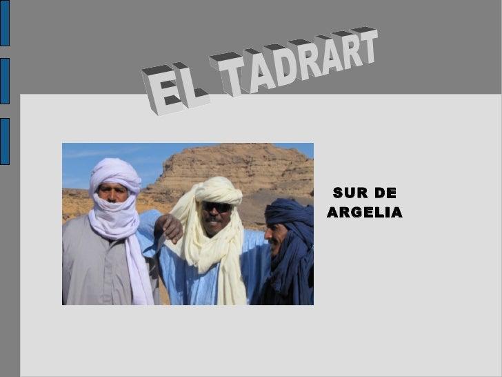 SUR DE ARGELIA EL TADRART