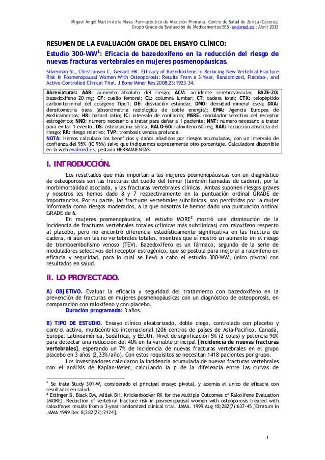 Miguel Ángel Martín de la Nava. Farmacéutico de Atención Primaria. Centro de Salud de Zorita (Cáceres)Grupo Grade de Evalu...