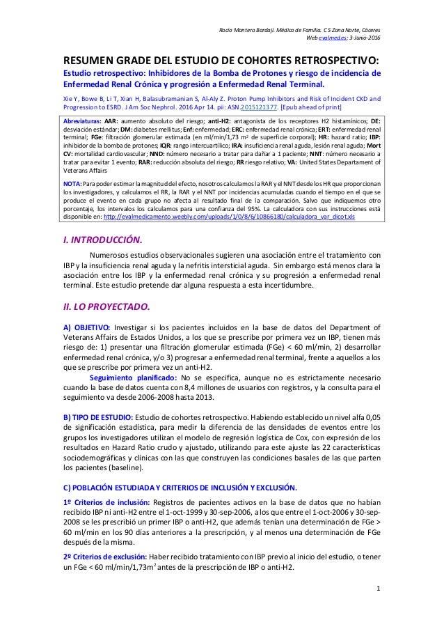 Rocío Montero Bardají. Médico de Familia. C S Zona Norte, Cáceres Web evalmed.es; 3-Junio-2016 RESUMEN GRADE DEL ESTUDIO D...