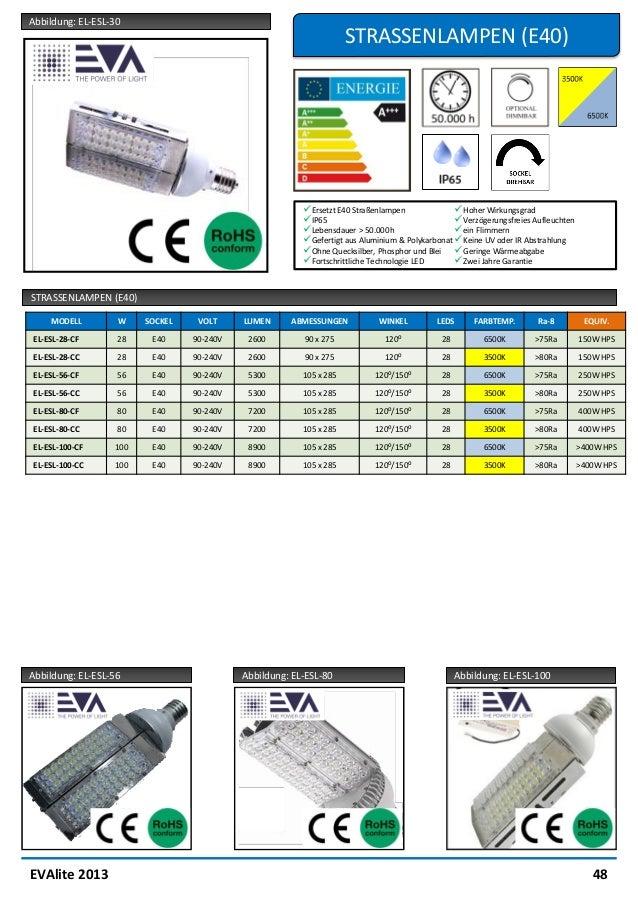 Evalight cut sheets