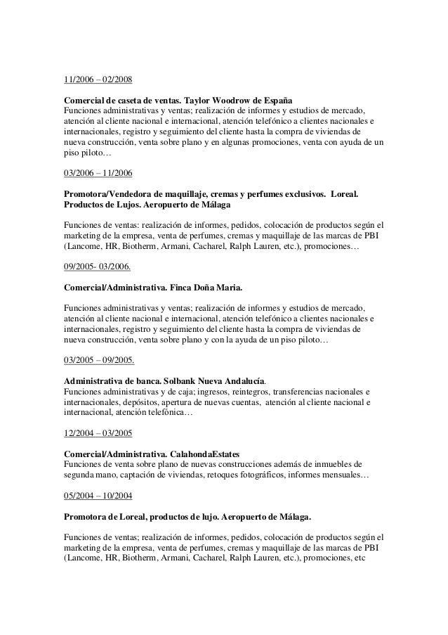 CV-español