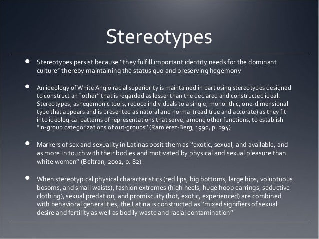 discussion stereotypes Social scientists dismiss them, but rather than being universally inaccurate, stereotypes are often grounded in reality.