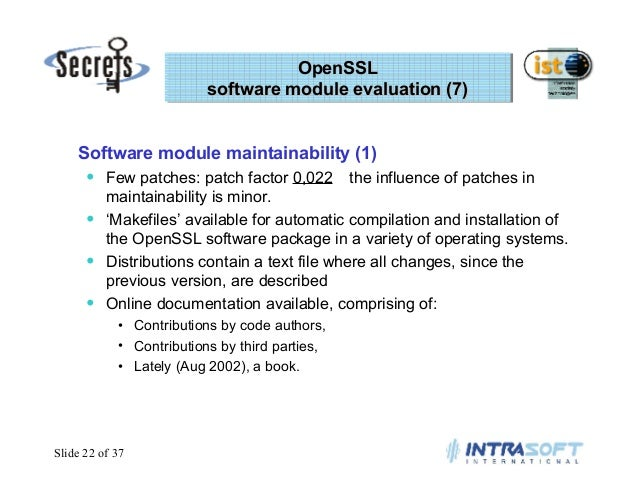 Evaluating Open Source Security Software