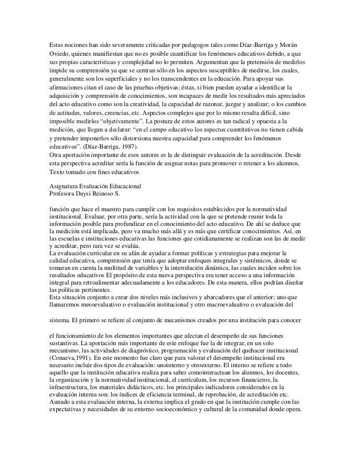 Estas nociones han sido severamente criticadas por pedagogos tales como Díaz-Barriga y MoránOviedo, quienes manifiestan qu...