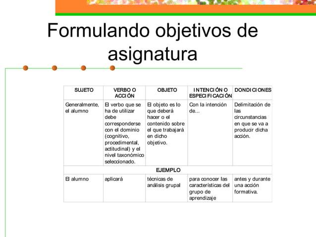 SISTEMA DE EVALUACIÓN (I)